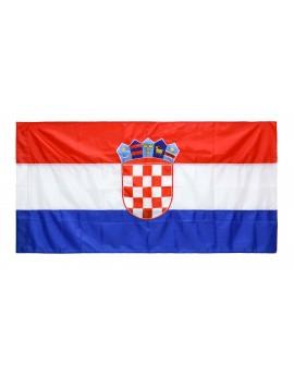 Zastava Republike Hrvatske - 150x75cm - svila