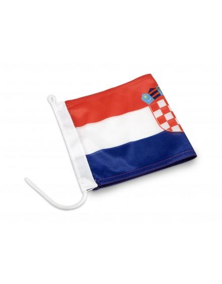 Brodska zastava republike Hrvatske - 30x15cm - Mesh
