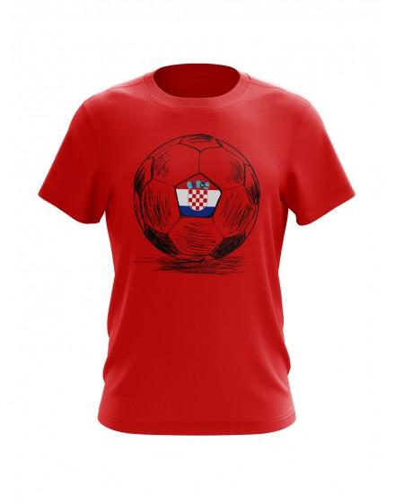 """Navijačka majica s natpisom """"HRVATSKA"""""""