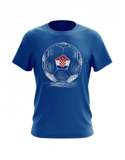 Navijačka majica sa natpisom HRVATSKA