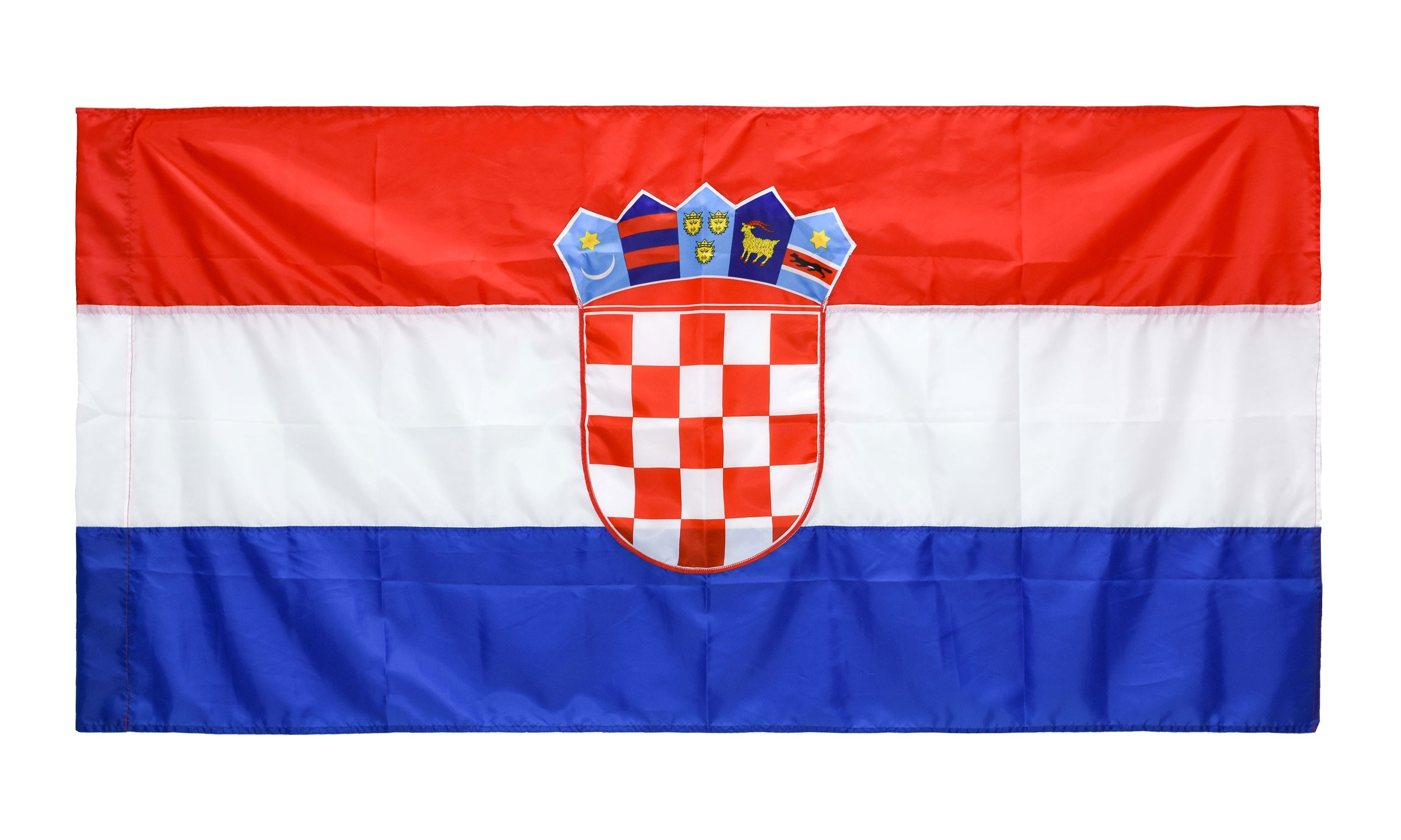 Zastava Republike Hrvatske 400x200cm Svila Fotex