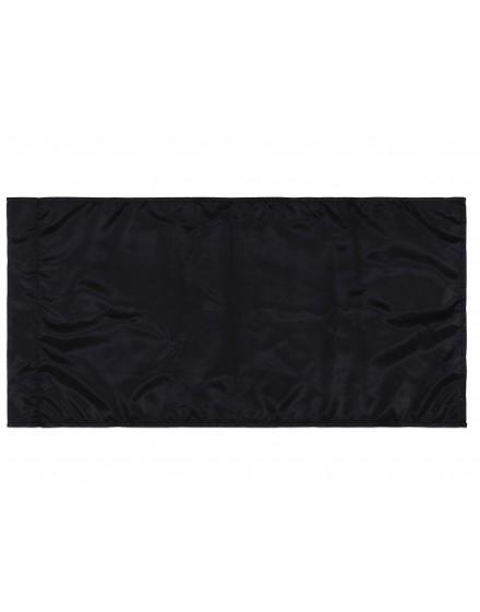 Zastava - crna - 200x100cm - svila
