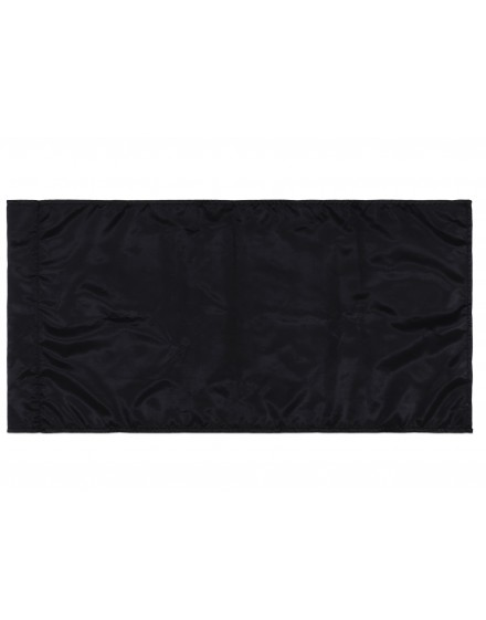 Zastava - crna - 300x150cm - svila