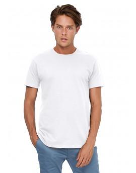 Pamučna majica B&C Bijela - 185g/m²