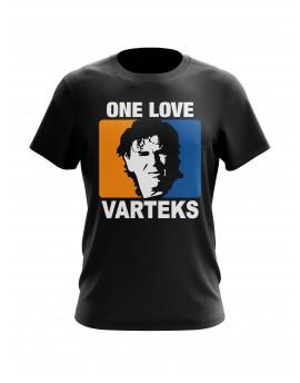 """Navijačka majica """"ONE LOVE VARTEKS"""" - crna"""