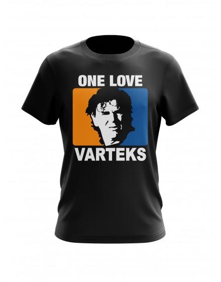 Navijačka majica ONE LOVE VARTEKS crna