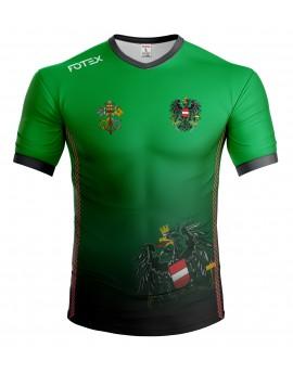 Svećenička ekipa - Austria - majica - zeleno-crna