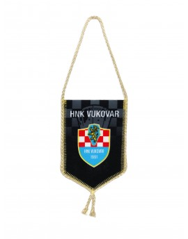 HNK Vukovar 1991 - Car flag - Black