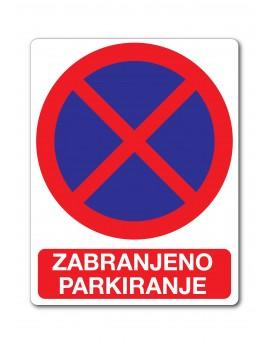 Naljepnica - zabranjeno parkiranje