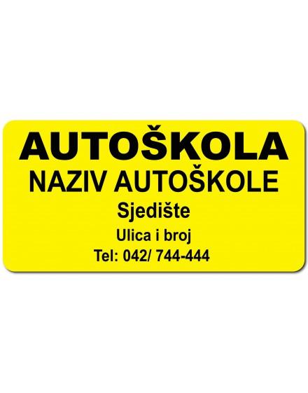 Sign - autoškola