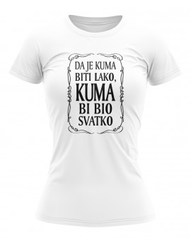 Majica - Da je kuma biti lako