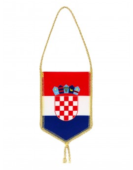 Auto zastava Republike Hrvatske - 8x12cm
