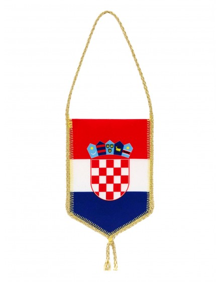 Car Flag of Croatia - 8x12cm
